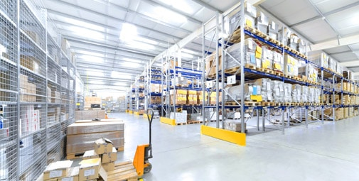 Materials Handling Warehouse Storage Systems